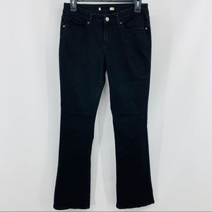 Levi's Black Five Pocket Straight Leg Denim Jeans